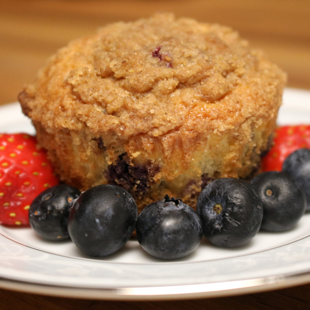 Berry Delicious Blueberry Muffins