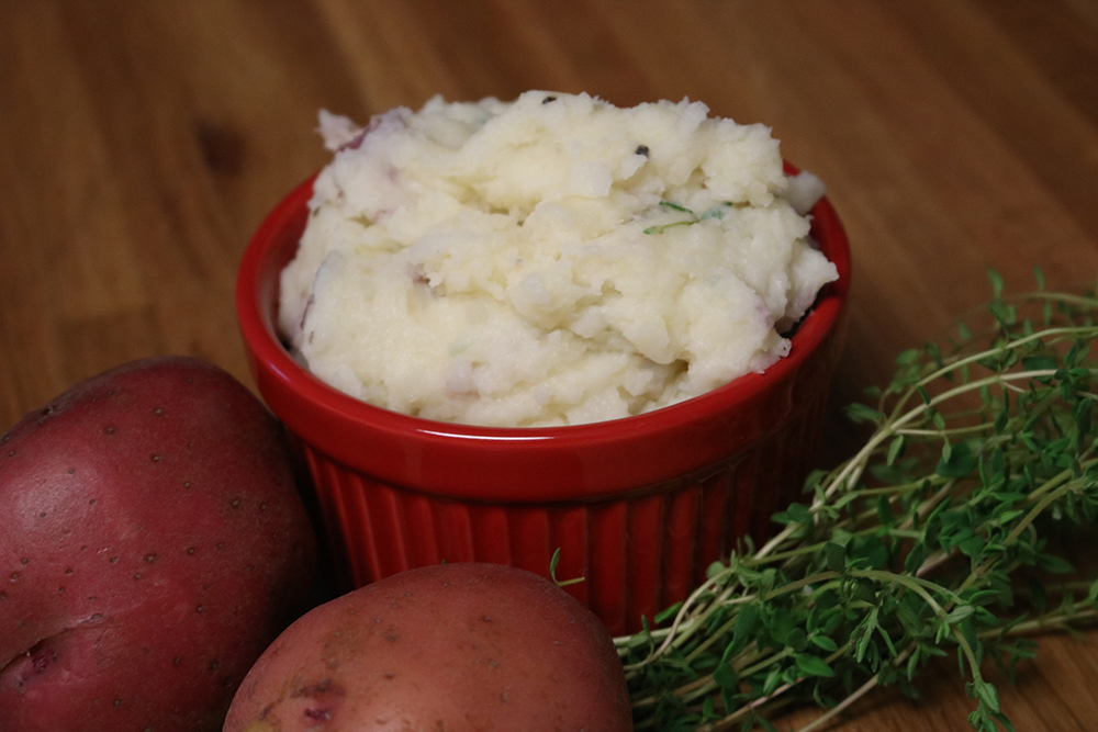 Parmesan and Thyme Mashed Potatoes