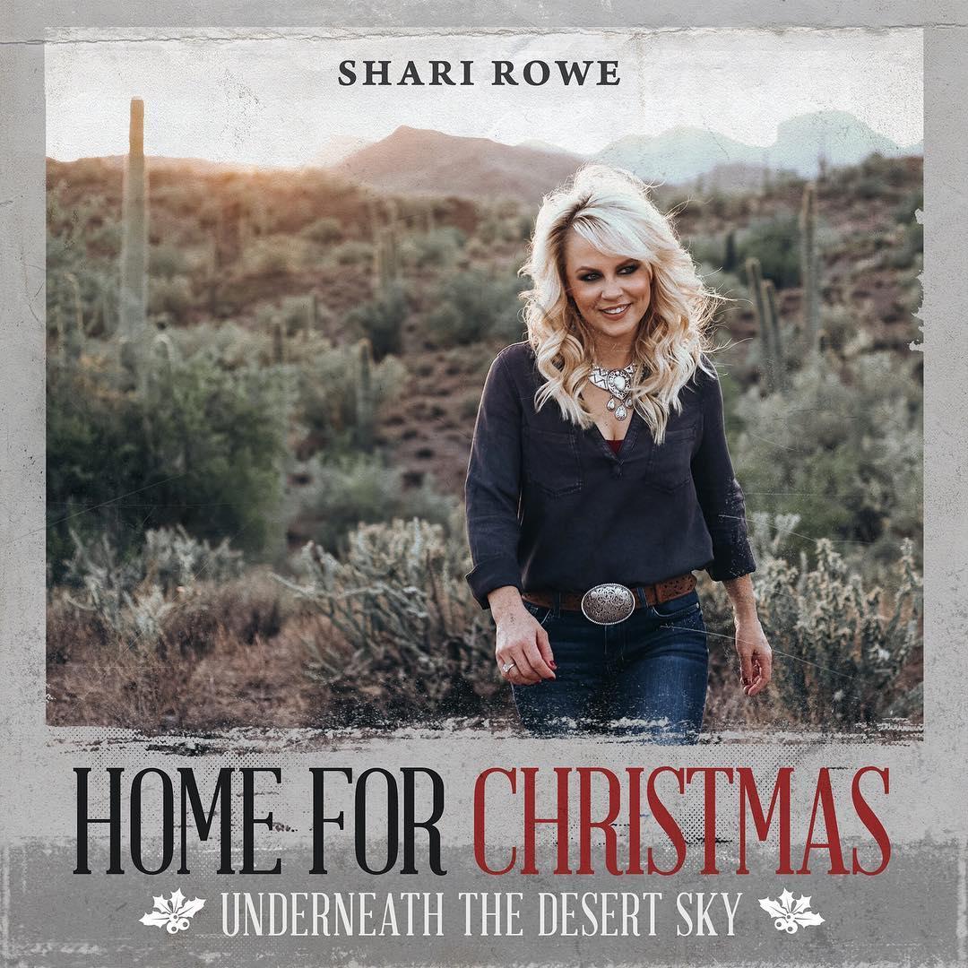 """Home for Christmas""  (Underneath the Desert Sky) by Shari Rowe"