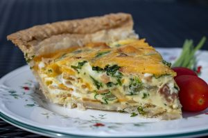 Southern Fellow Quiche Slice