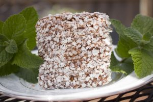 Southern Fellow Lamingtons with mint