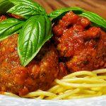 Classic Meatballs with Smoked Tomato Marinara