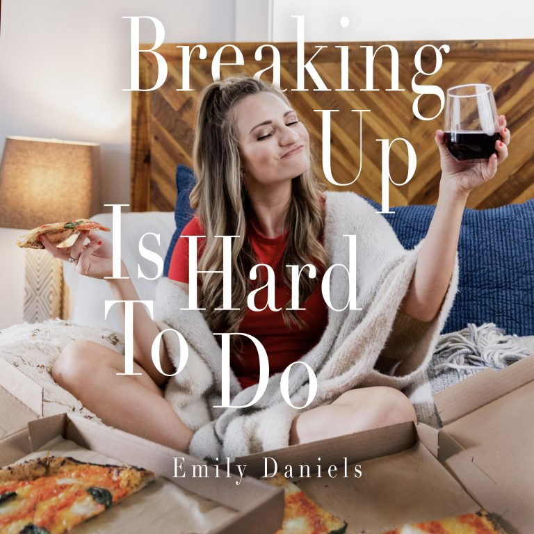 """Breaking Up Is Hard to Do"" Single Cover"