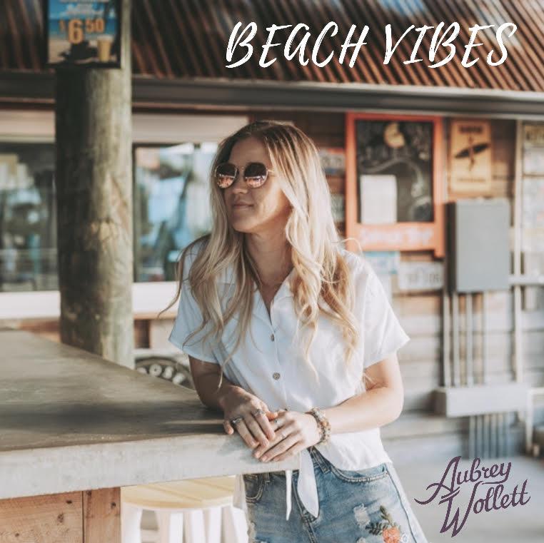 """Beach Vibes"" Album Art"