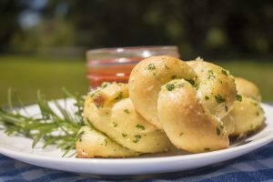 Buttery Herb Garlic Knots