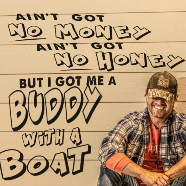 """Buddy With a Boat"" Album Cover"