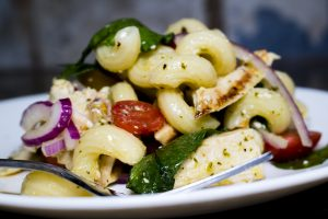 Summer Grilled Chicken Pasta Salad