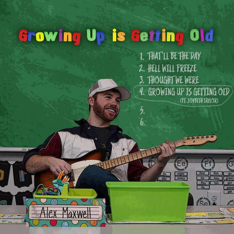 """Growing Up is Getting Old"" Album Cover"