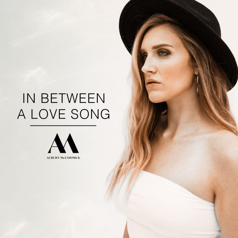 """In Between a Love Song"" Album Cover"