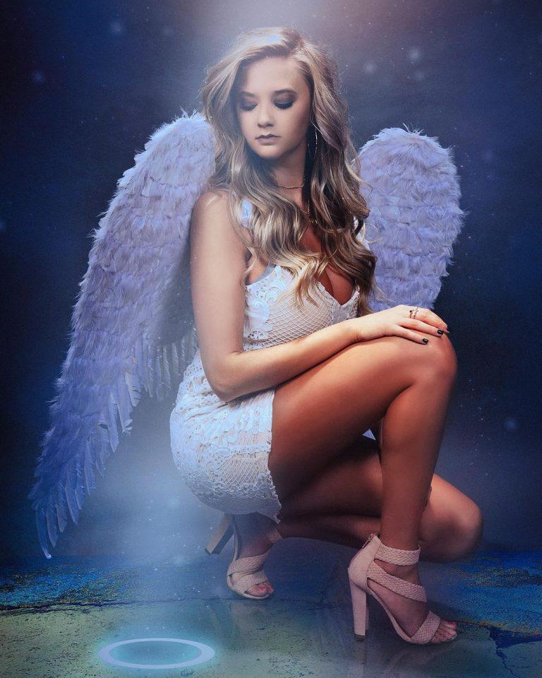 """What Do I Do Now?"" Brenna Bone Angel Photo"