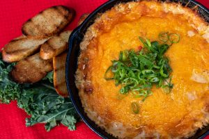 Southern Cheesy Crab Dip