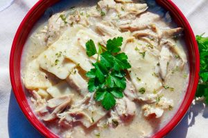 Heartwarming Chicken and Dumplings