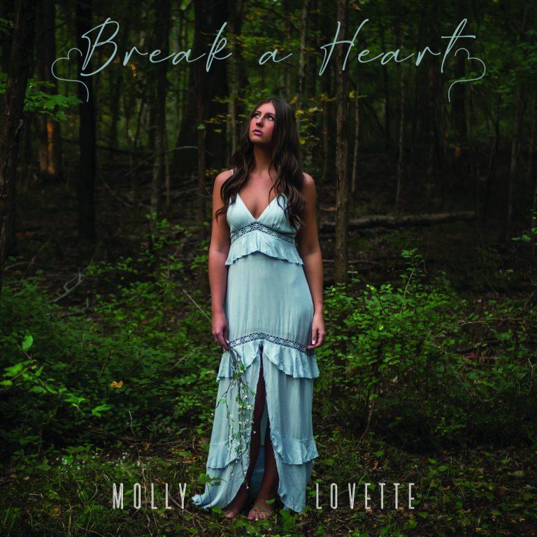 """""""Break a Heart"""" Molly Lovette Single Art"""