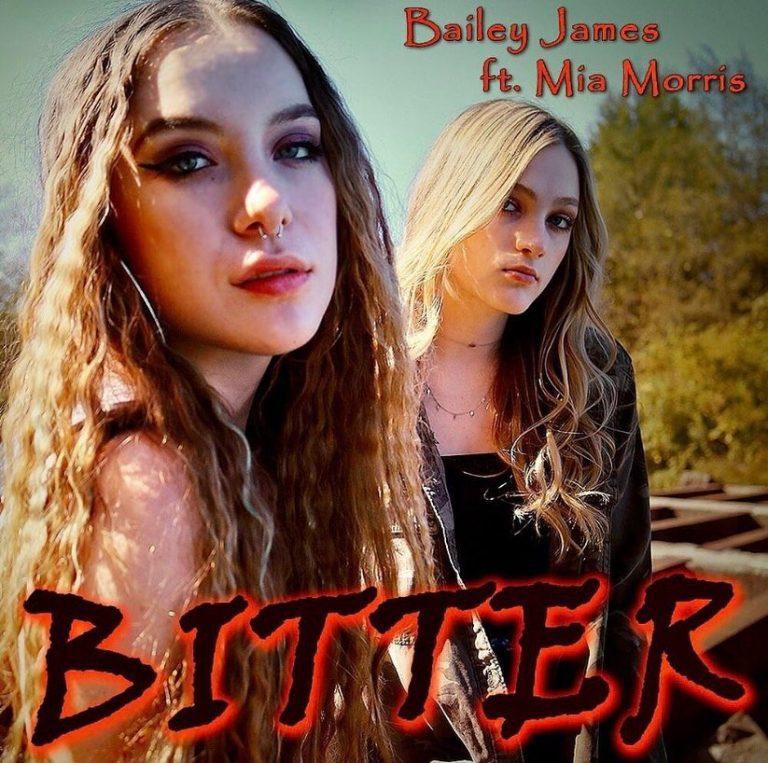 """Bitter"" Bailey James Single Art"