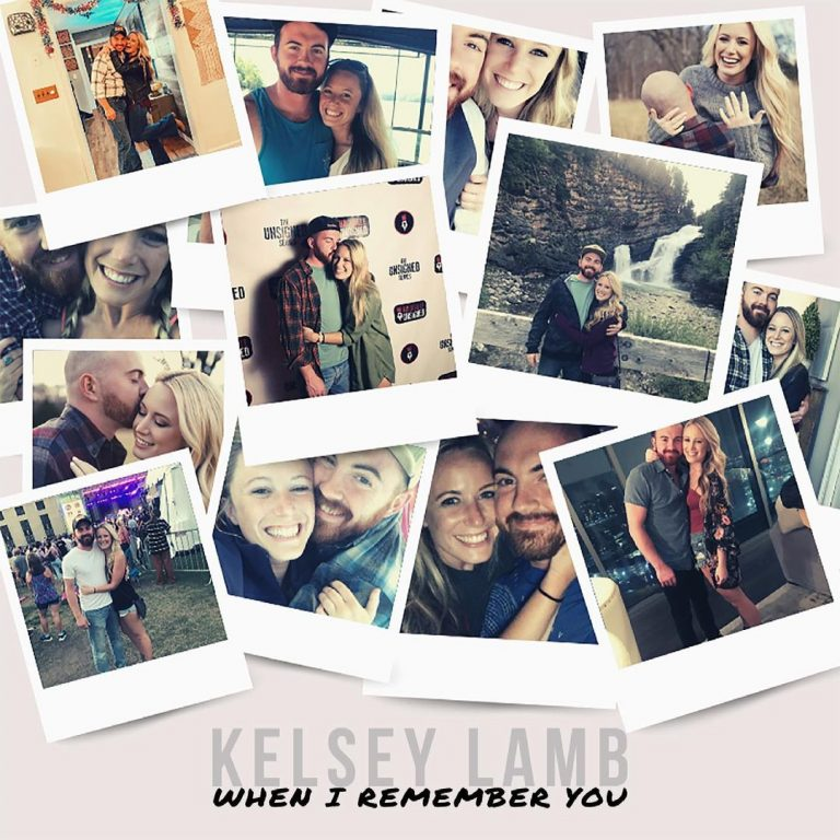 """When I Remember You"" Kelsey Lamb Single Art"