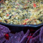Cheesy Spinach and Artichoke Dip