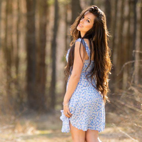 Jessica Lynn In Blue