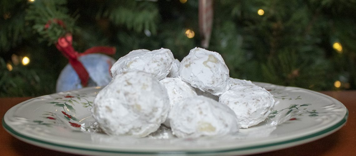 Southern Fellow Snowball Cookies