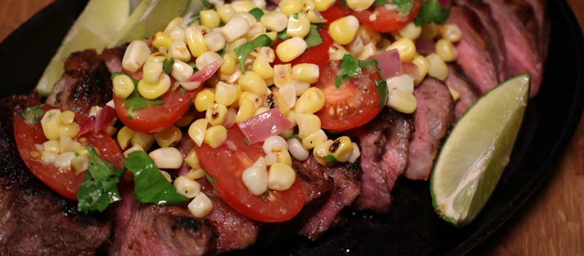 Steak and Corn Salsa Website