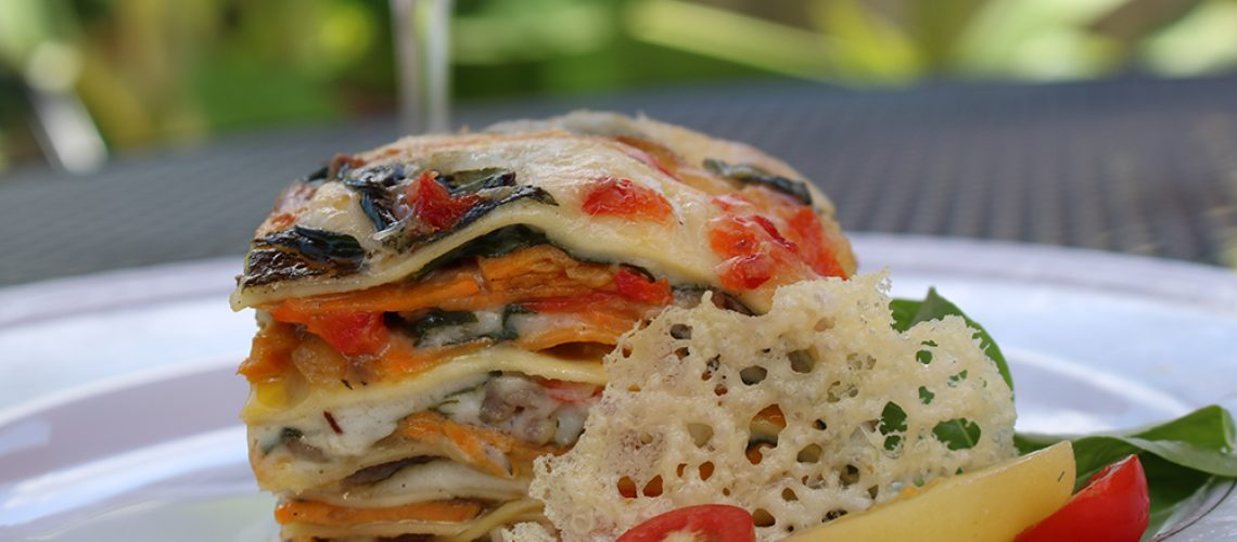 Sweet potato lasagna website
