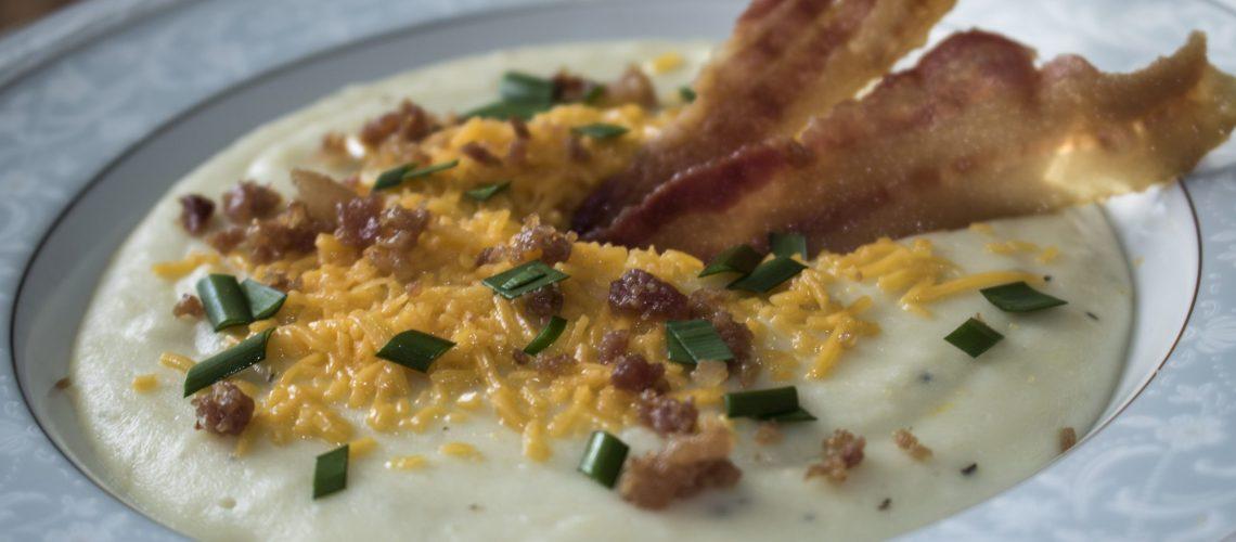 Irish potato leek soup